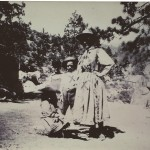 Emma Thomas Knowles, Willie & friend by Hemet Lake